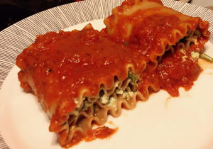 Lasagna Roll Ups with Vegan Ricotta