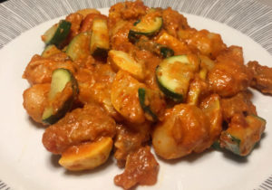 Vegan Gnocchi With Vodka Sauce