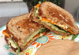 The HASS- Hummus, Avocado, Sweet potato Sandwich