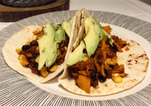 Sweet Potato Soyrizo Tacos